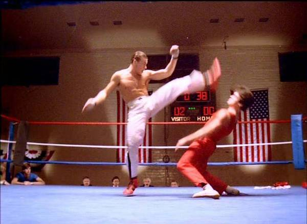Jean-Claude Van Damme finally made a medium-sized impact, in the 1985 film 'No Retreat, No Surrender'