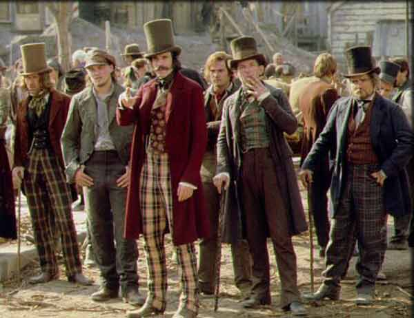 Interesting that you mention Gangs of New York, because the shirt I am wearing on the inside cover, is from the Gangs of New York. I