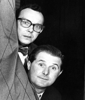 Eric Morecambe and Ernie Wise 4.