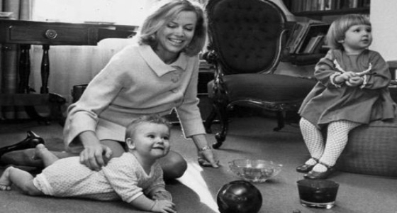 Honor Blackman children