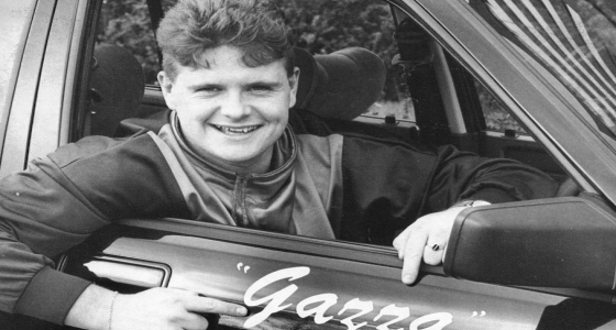 /Paul Gascoigne Gazza Car