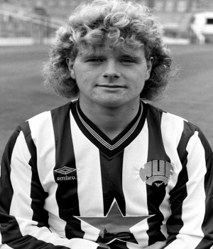 Young Paul Gascoigne Gazza.