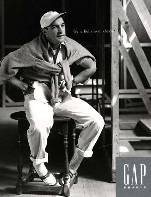 The Khaki Experiment and The Chino Cinch gap gene kelly