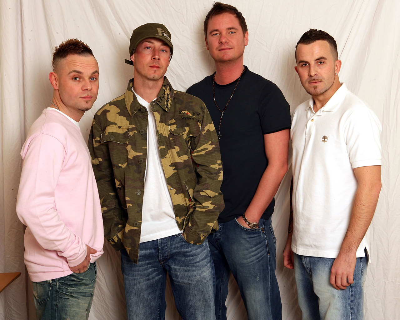 East 17 were a lovely bunch of fellas,