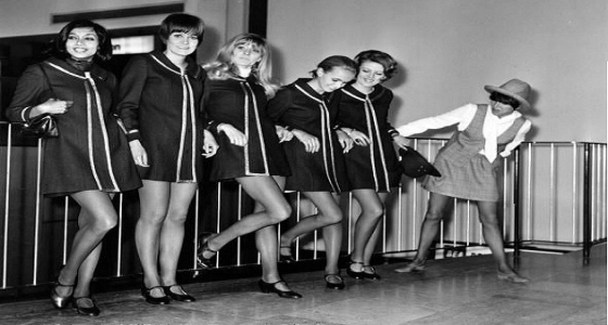 Mini Skirt - 60s - Air Hostess