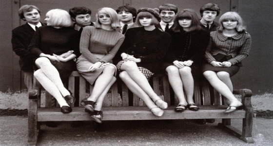 /Mini Skirt - 60s - Models.