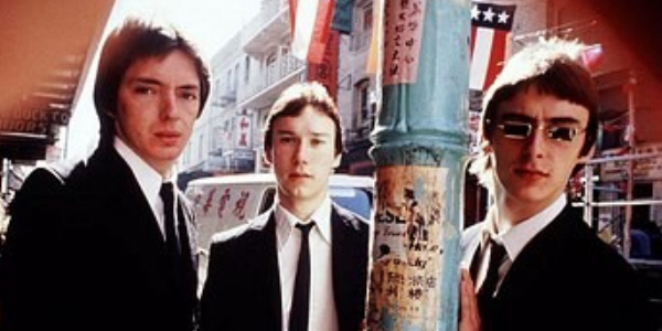 rick buckler paul weller bruce foxton the jam usa 1977  zani 4.