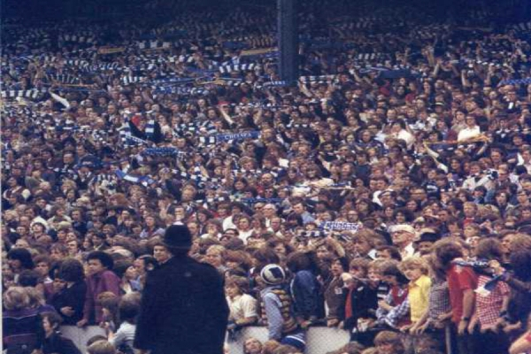 'We're the Middle, We're the Middle, We're the Middle of the Shed' ( circa 1973)