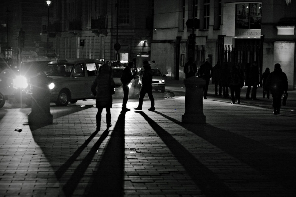 The Night (SeenThrough The Eyes of a London Taxi Driver)